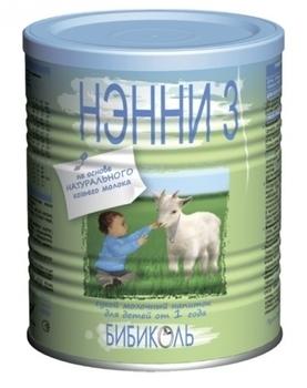Сухая молочная смесь Нэнни 3, 400 г Нэнни