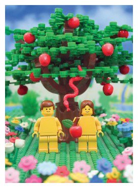 Библия Лего