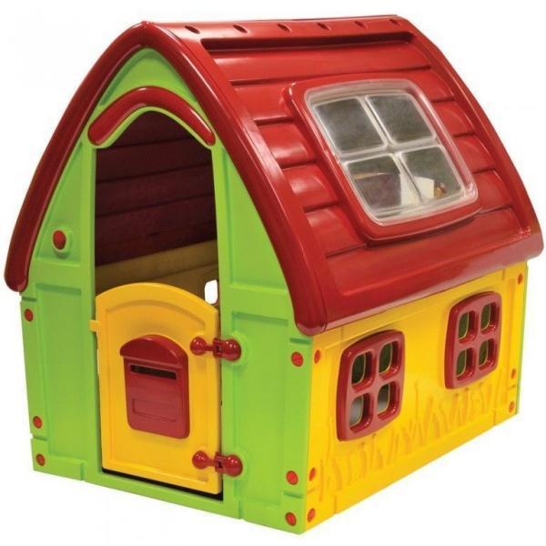 пластиковый игровой домик