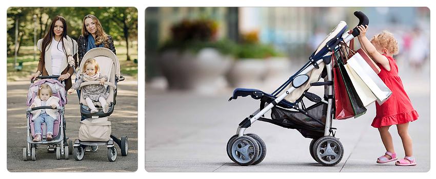 тормоза и стопперы в прогулочных колясках