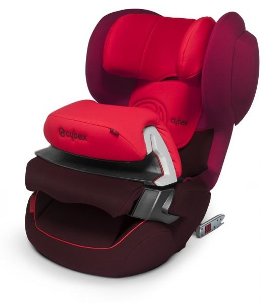 Автокресло Cybex Juno-Fix Poppy Red