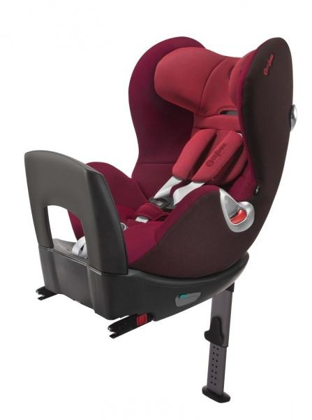 Автокресло Cybex Sirona PLUS Poppy red