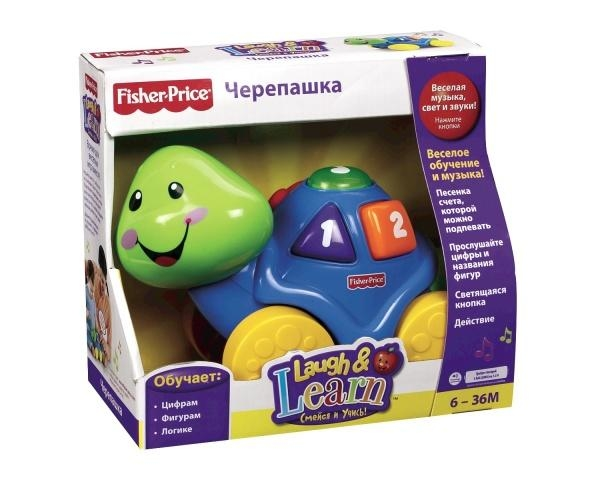 Интерактивная черепашка Fisher-Price