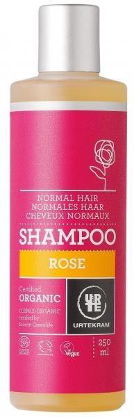 Органический шампунь Urtekram Роза для нормальных волос, 250 мл