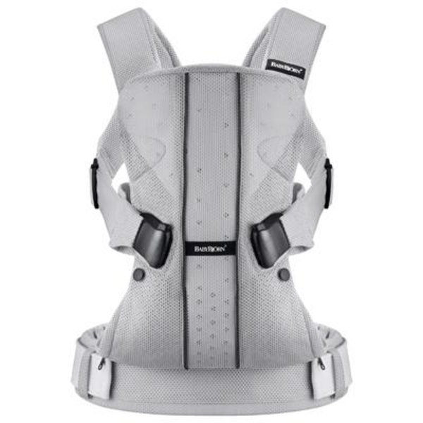 Рюкзак-кенгуру Babybjorn Baby Carrier One Mesh, серебристый