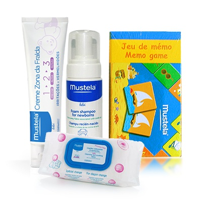 Набор Mustela All for baby - Pampik