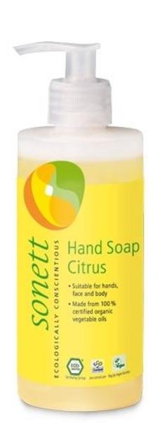 Органическое жидкое мыло Sonett Лимон, 300 мл