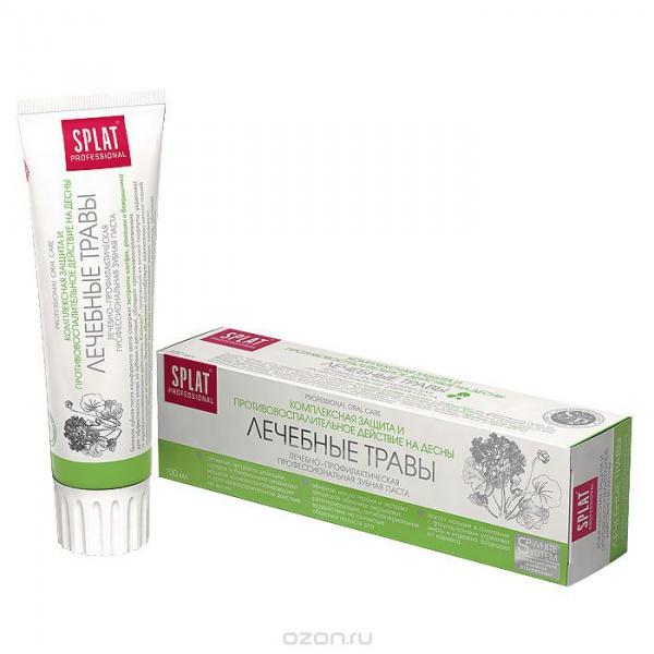 Зубная паста Professional Splat Medical Herbs, 100 мл