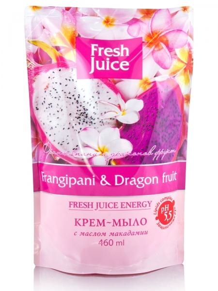 Крем-мыло Fresh Juice Frangipani&Dragon fruit, 460 мл