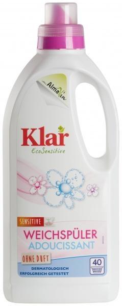 Кондиционер-ополаскиватель для белья Klar, 1 л