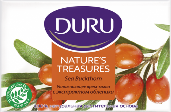 Мыло Duru Nature's Treasures с экстрактом облепихи, 90 г