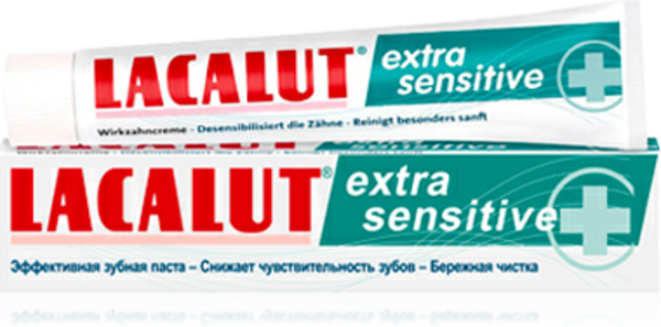 Зубная паста Lacalut Extra Sensitive, 50 мл