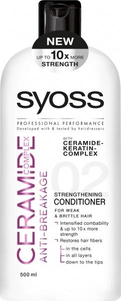 Бальзам Syoss Ceramide Complex Anti-Breakage, 500 мл - Pampik
