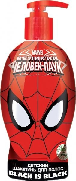 Шампунь Spider-Man Black is Black, 480 мл