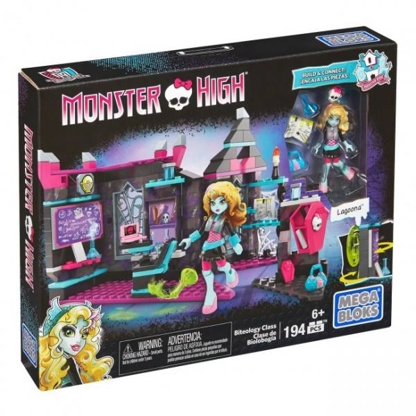 Конструктор Mega Bloks Monster High Урок укусологии, 194 детали (DKY23)