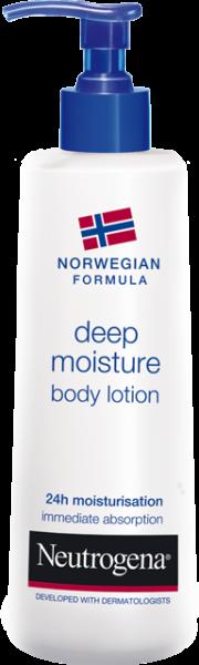 Молочко Neutrogena для сухой и чувствительной кожи Глубокое увлажнение, 250 мл