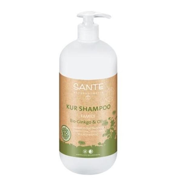 БИО-Шампунь для волос восстанавливающий Sante Гинкго Билоба и Олива, 950 мл