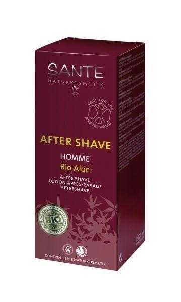 БИО-Лосьон-флюид Sante увлажняющий для чувствительной кожи для мужчин Алоэ, 100 мл