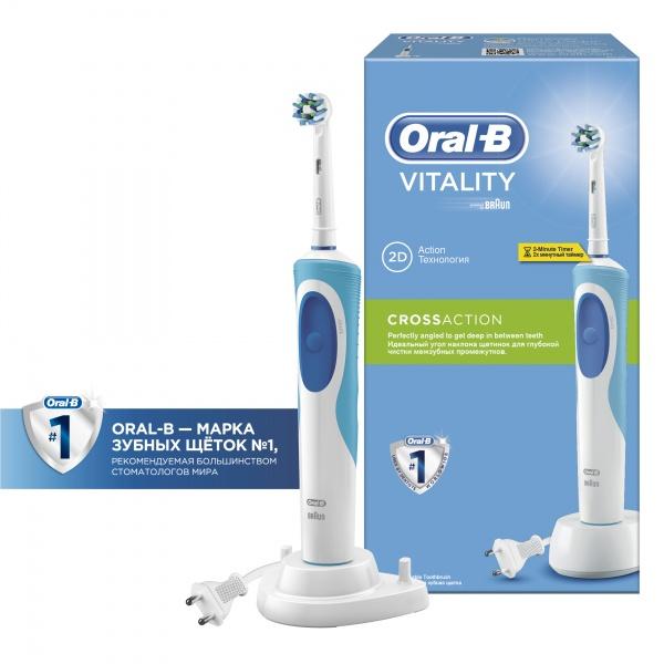 Электрическая зубная щетка Oral-b Vitality Cross Action