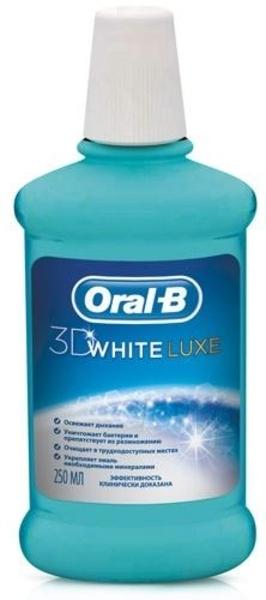 Ополаскиватель для полости рта Oral-b D White Luxe, 250 мл