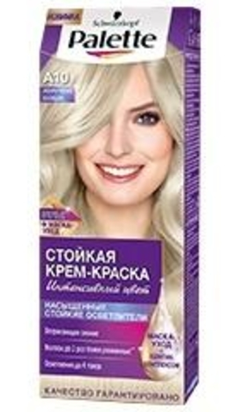 Краска для волос Palette A-10 Жемчужный блондин, 110 мл