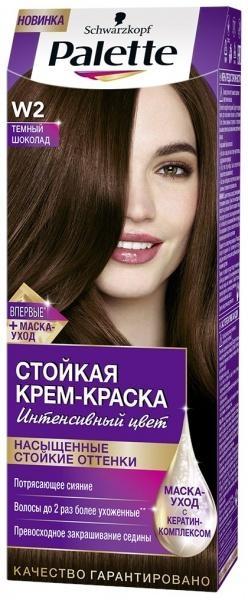 Краска для волос палетт горячий шоколад