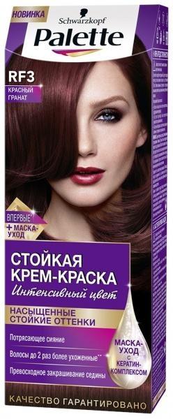 Краска для волос Palette RF-3 Красный гранат, 110 мл