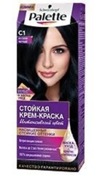Краска для волос Palette С1 Иссиня-черный, 110 мл