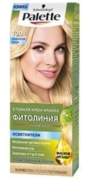 Краска для волос Palette Фитолиния 100 Скандинавский блондин, 110 мл