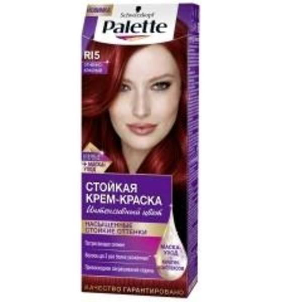 Краска для волос Palette RI5 Огненно-красный, 110 мл
