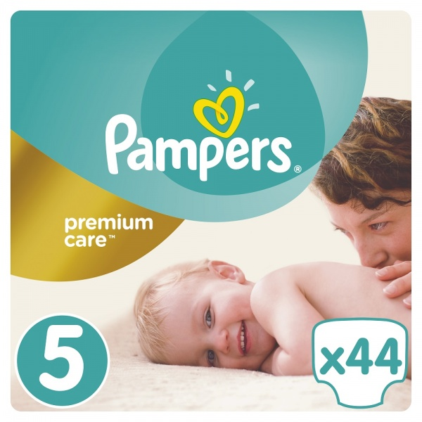 Подгузники Pampers Premium Care Dry Max Junior 5 (11-18 кг) 44 шт. - Pampik