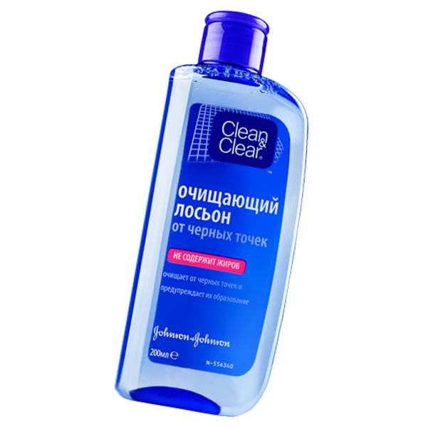 Лосьон Clean & Clear для очистки кожи от черных точек, 200 мл