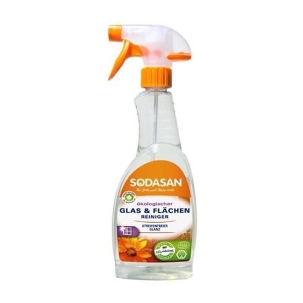Органическое моющее средство для стекла Sodasan, 0,5л