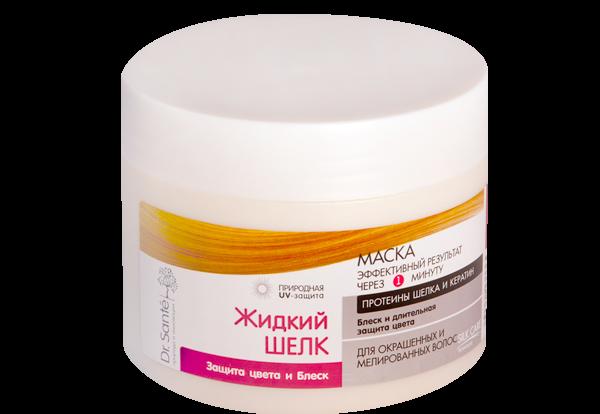 Купить Шампуни и кондиционеры для волос, Маска для волос Dr.Sante Защита цвета и блеск, 300 мл (Срок годности до 17.08.2019), Dr. Sante