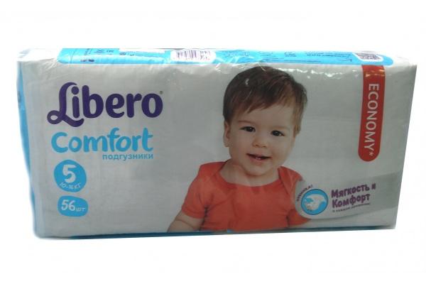 347399579cb0 Подгузники Libero Comfort Maxi Plus 5 MEGA PACK (10-16 кг) 56 шт ...