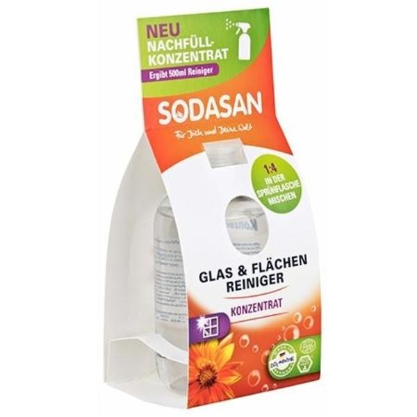 Органическое очищающее средство для стекол Sodasan
