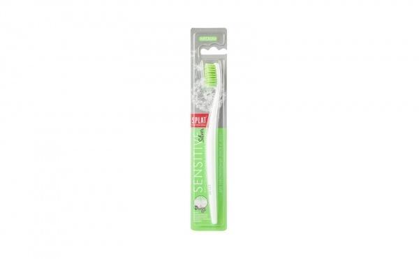 Зубная щетка Splat Sensitive средняя, зеленый