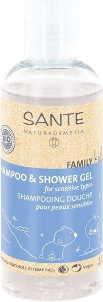 БИО-Шампунь для волос и тела Sante Family Kids Sensitive, 200 мл