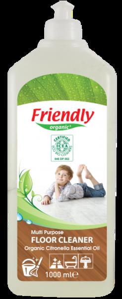 Средство для мытья пола Friendly Organic, 1 л