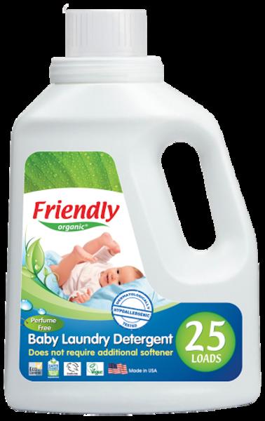 Жидкий стиральный порошок Friendly Organic, 739 мл
