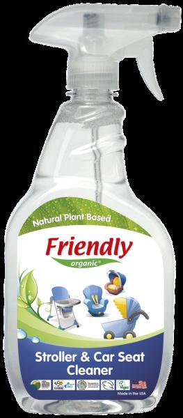 Средство для мытья колясок, автокресел и стульчиков для кормления Friendly Organic, 650 мл