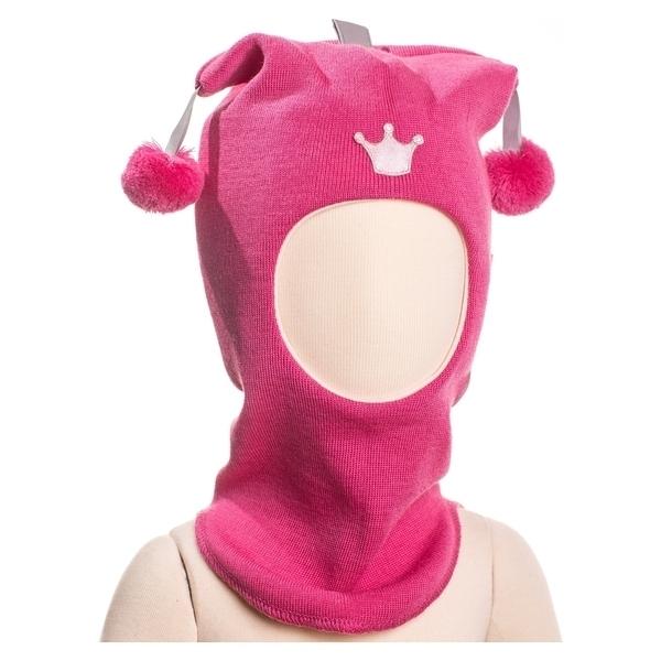 39676a5222541d Шапка-шлем Kivat Joker Корона, р.1, розовый (491-28) | Купить в ...