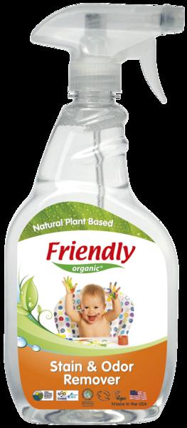 Средство для удаления пятен и запахов Friendly Organic лимон, 650 мл