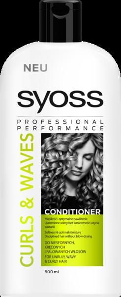 Бальзам Syoss Curls & Waves для кудрявых и волнистых волос, 500 мл