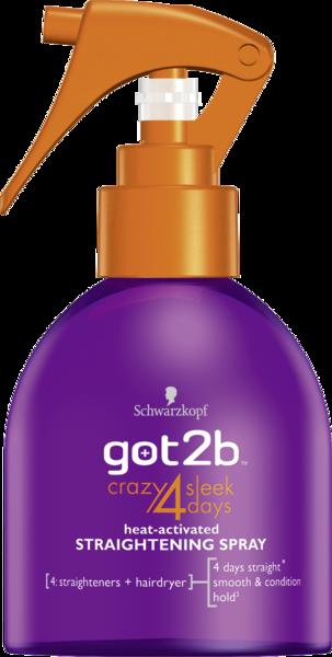 Спрей для выпрямления волос Got2b Crazy Sleek, 200 мл
