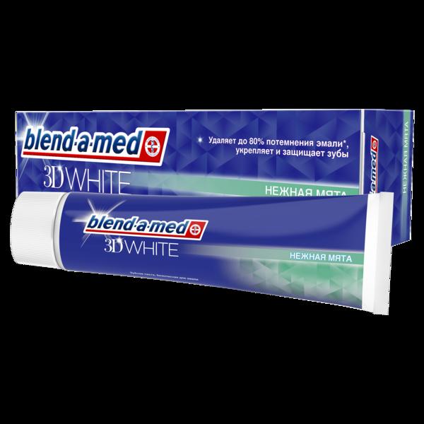 Зубная паста Blend-a-med 3D White Нежная мята, 100 мл