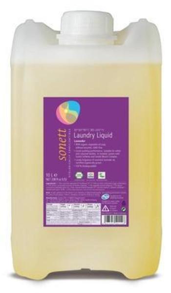 Концентрированное органическое жидкое средство Sonett для стирки с эфирным маслом лаванды, 10 л