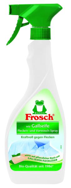 Пятновыводитель-спрей Frosch, для выведения и предварительной обработки пятен, 500 мл