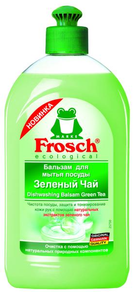 Бальзам для мытья посуды Frosch Зеленый чай, 500 мл