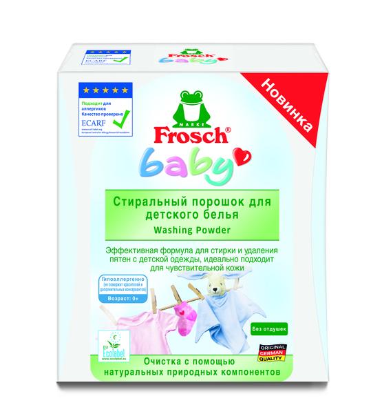 Стиральный порошок Frosch, для детского белья, 1,08 кг